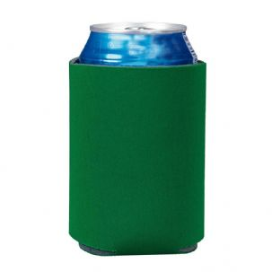 Pack of 6 Can Koozie Cooler - Green